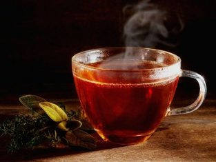 weißem Tee